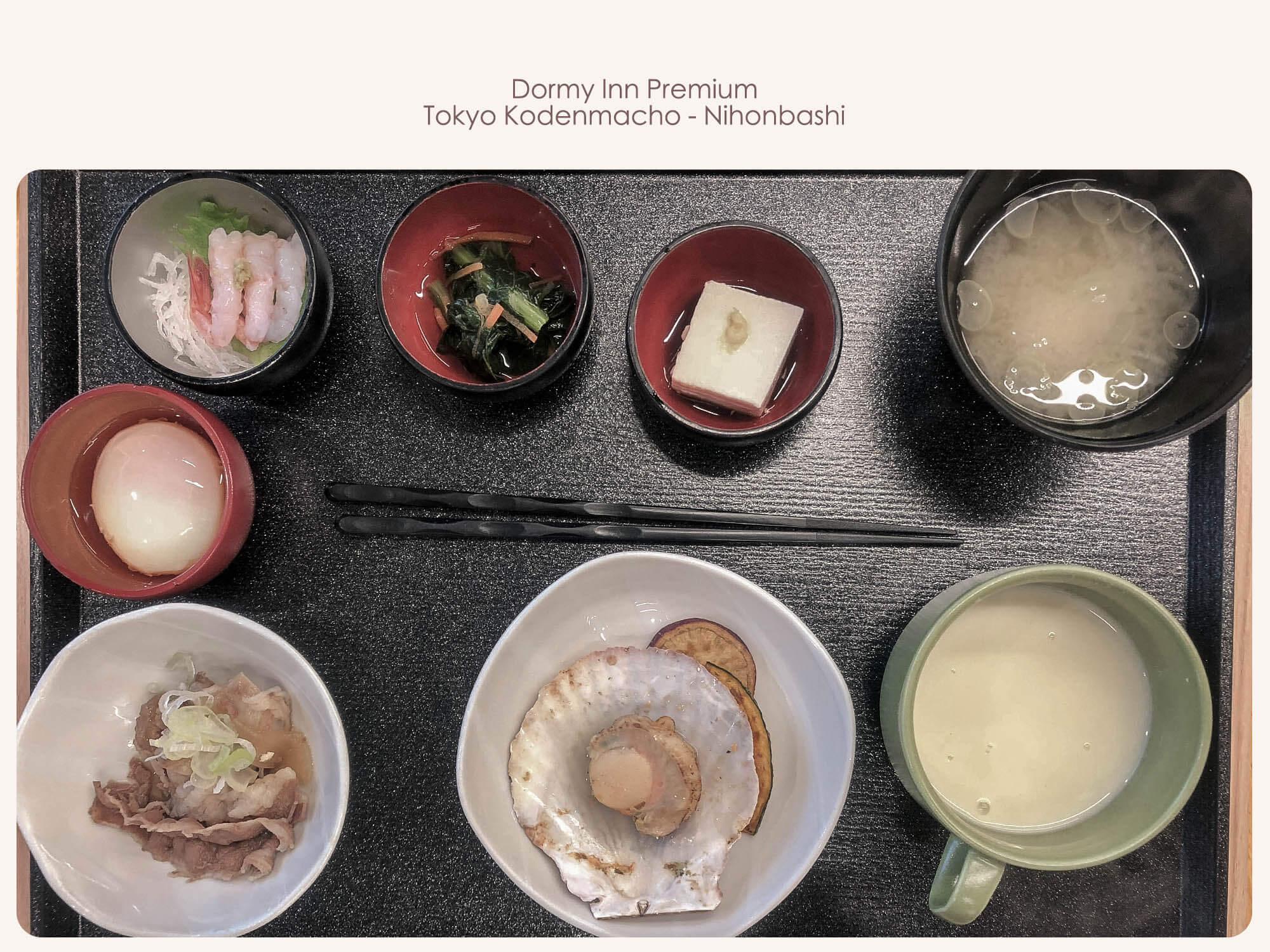 Dormyinn日本橋_hatago早餐菜色