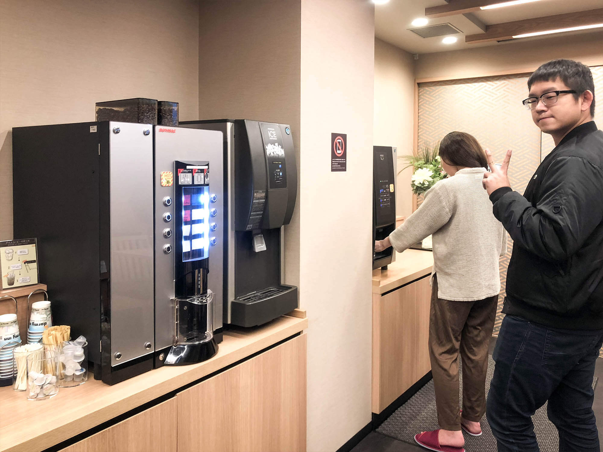 Dormyinn日本橋_hatago餐廳咖啡機