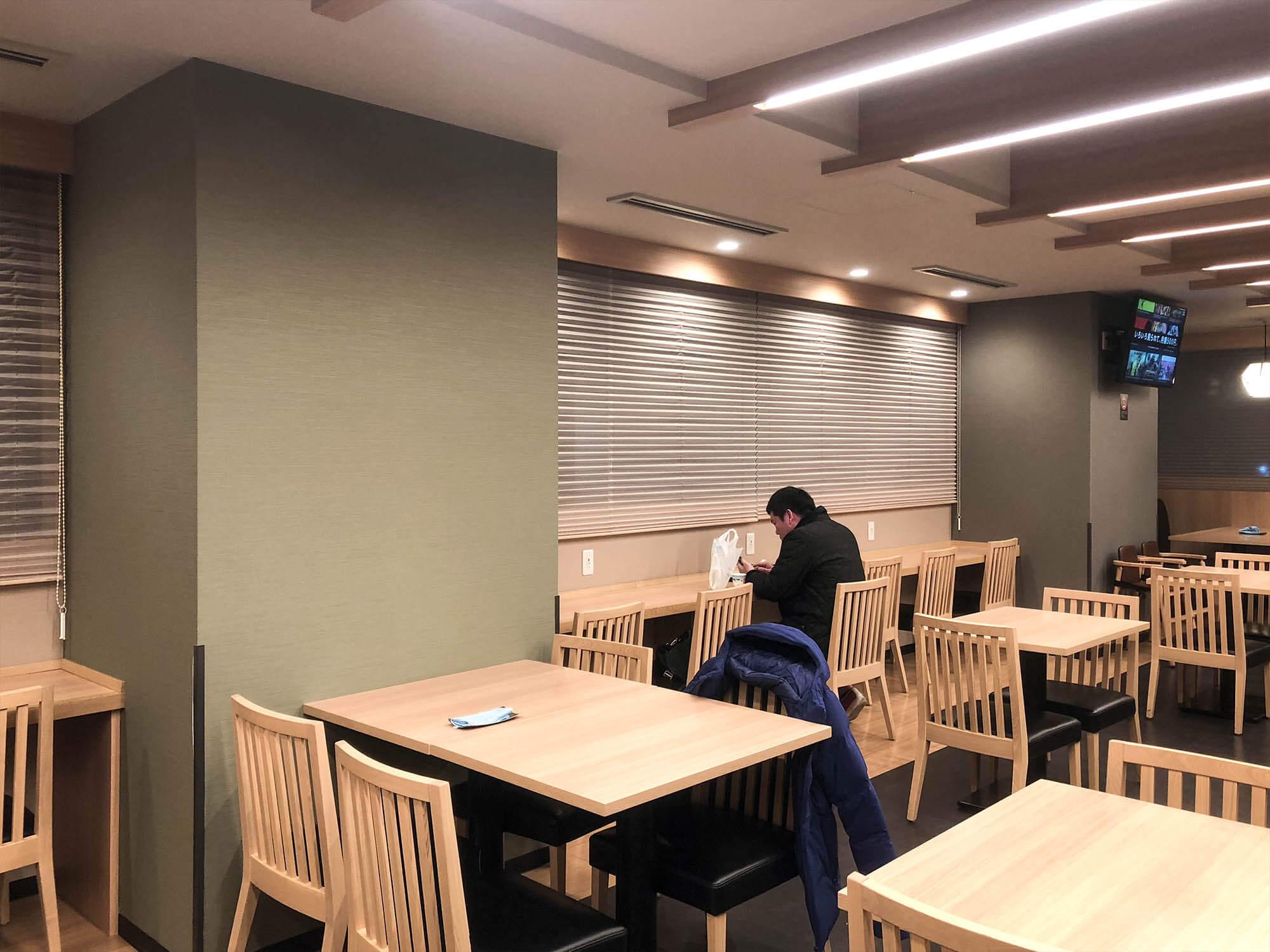 Dormyinn日本橋_hatago餐廳座位席