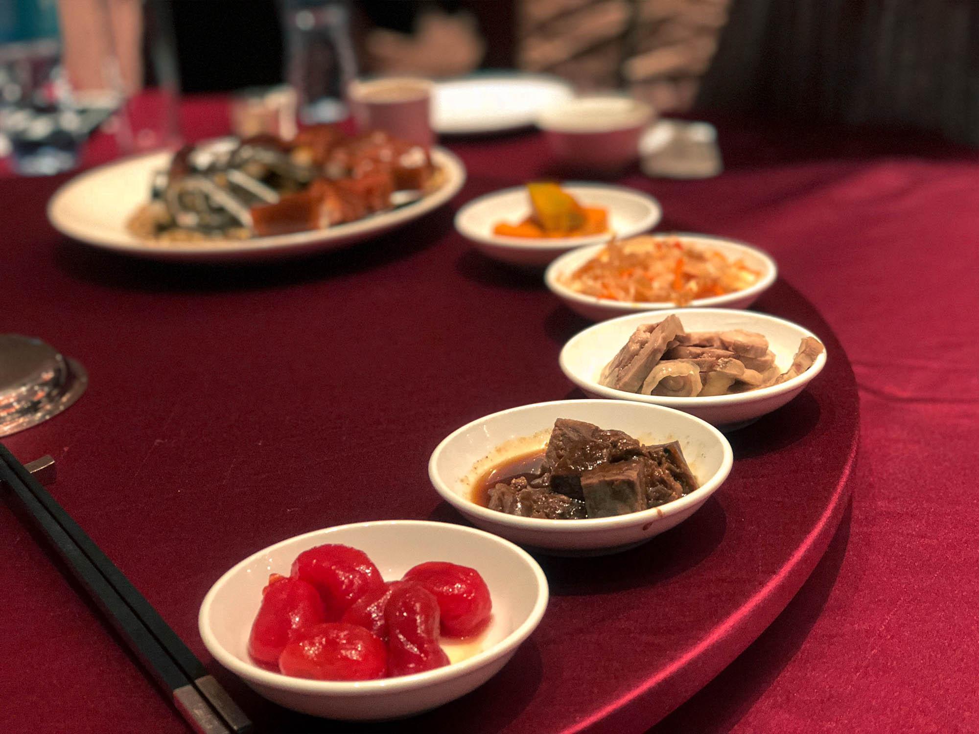 蘭城晶英_櫻桃鴨烤鴨小菜1