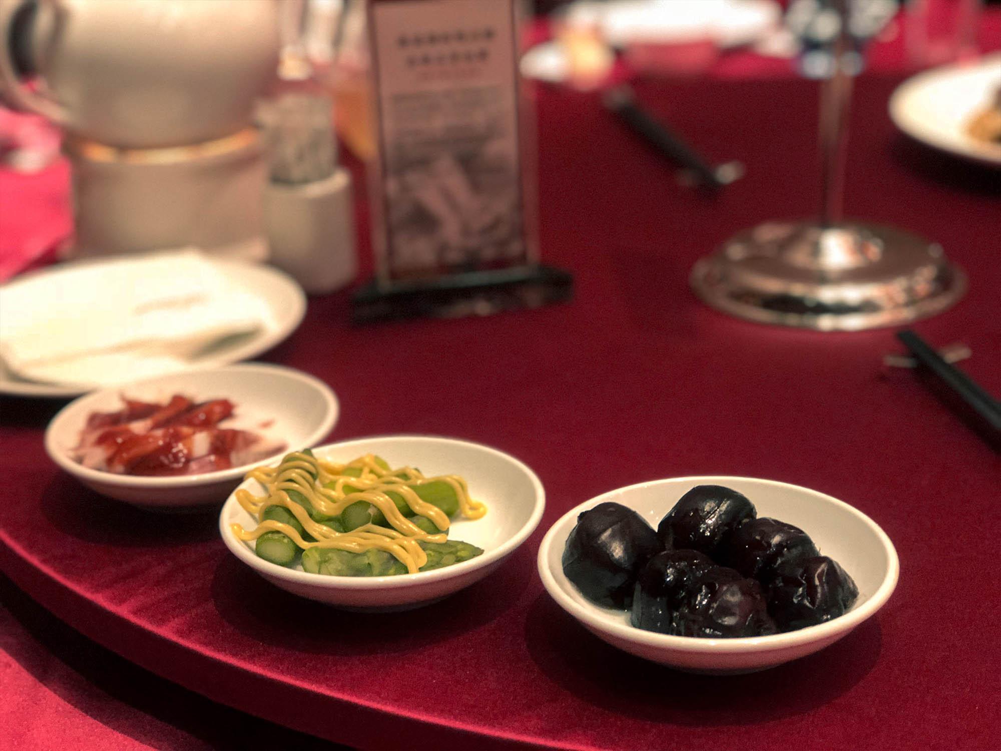 蘭城晶英_櫻桃鴨烤鴨小菜2