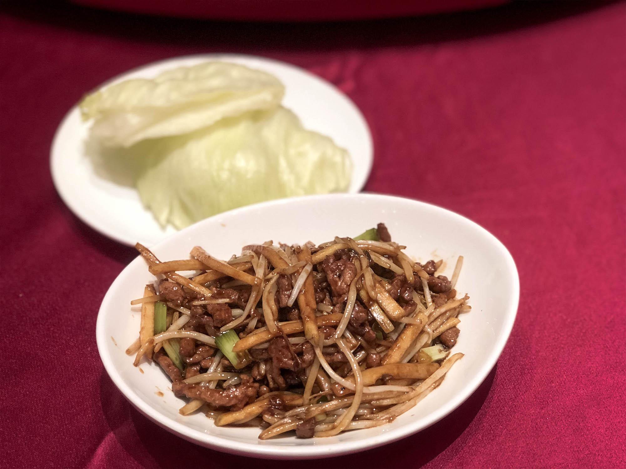 蘭城晶英_櫻桃鴨-包生菜1