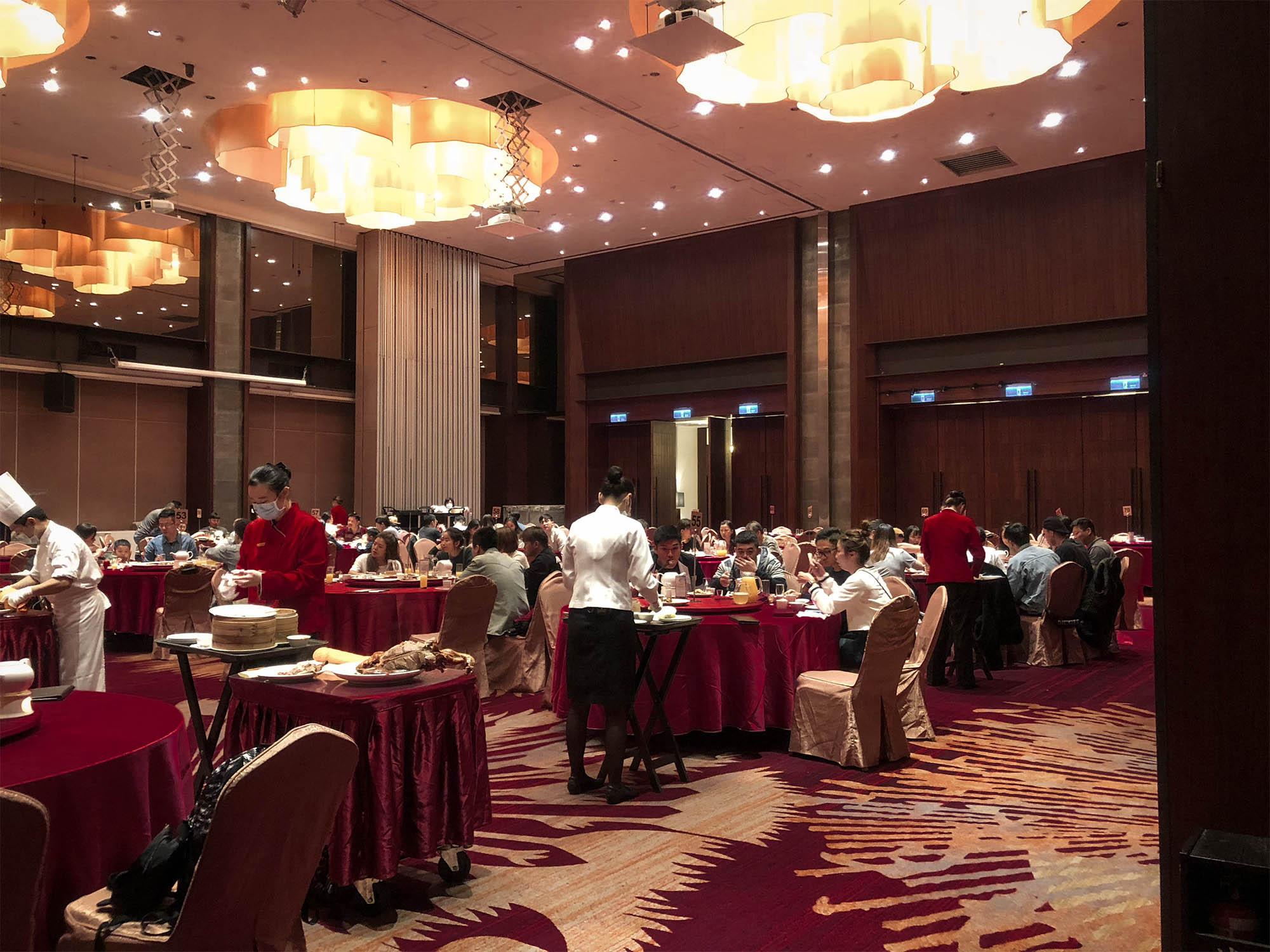 蘭城晶英_紅樓中餐廳內