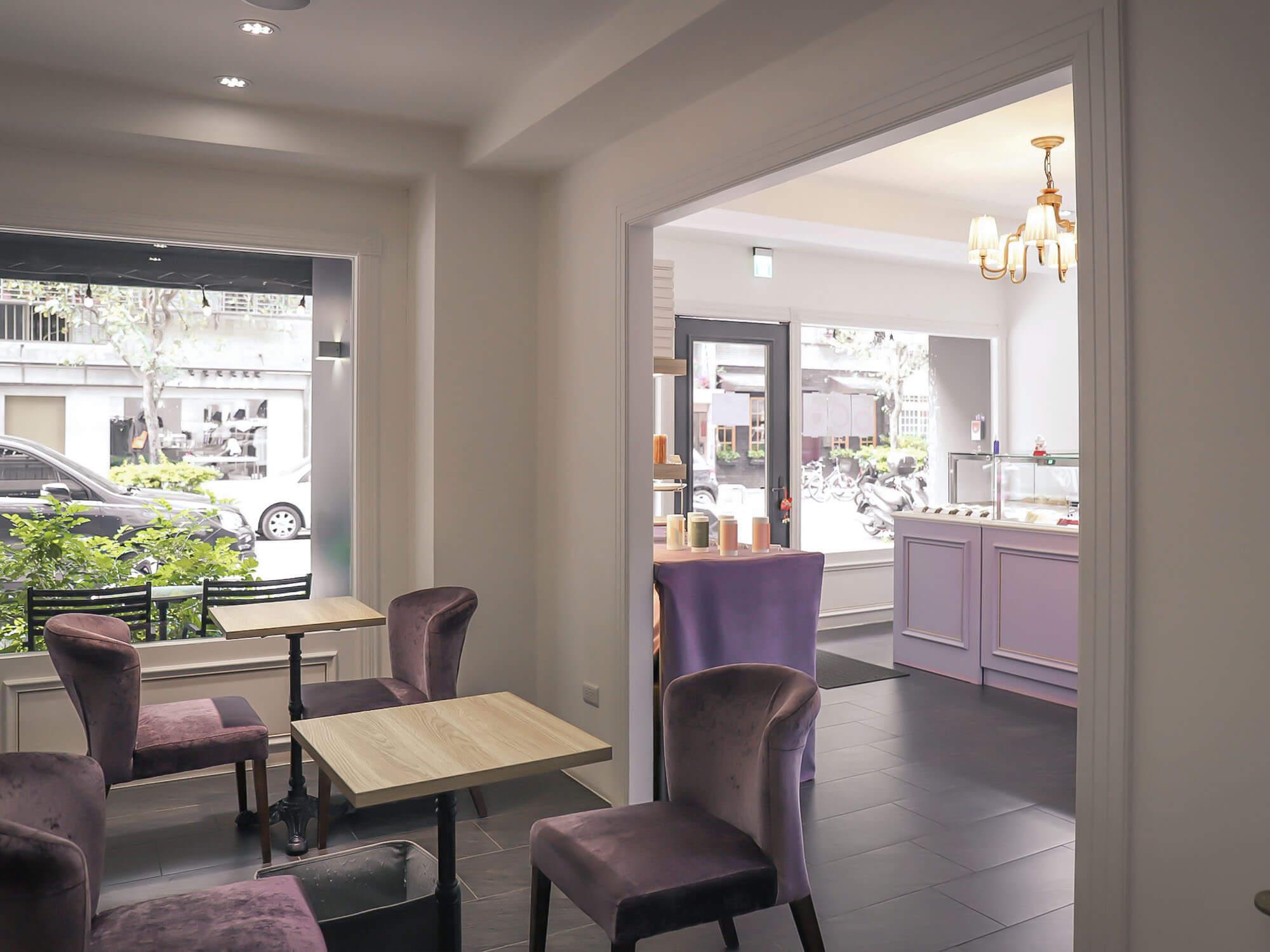 1789 Café Pâtisserie室內席1