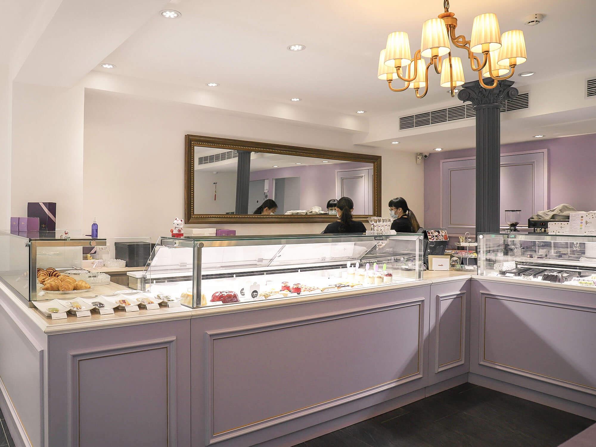 1789 Café Pâtisserie店內櫃檯1