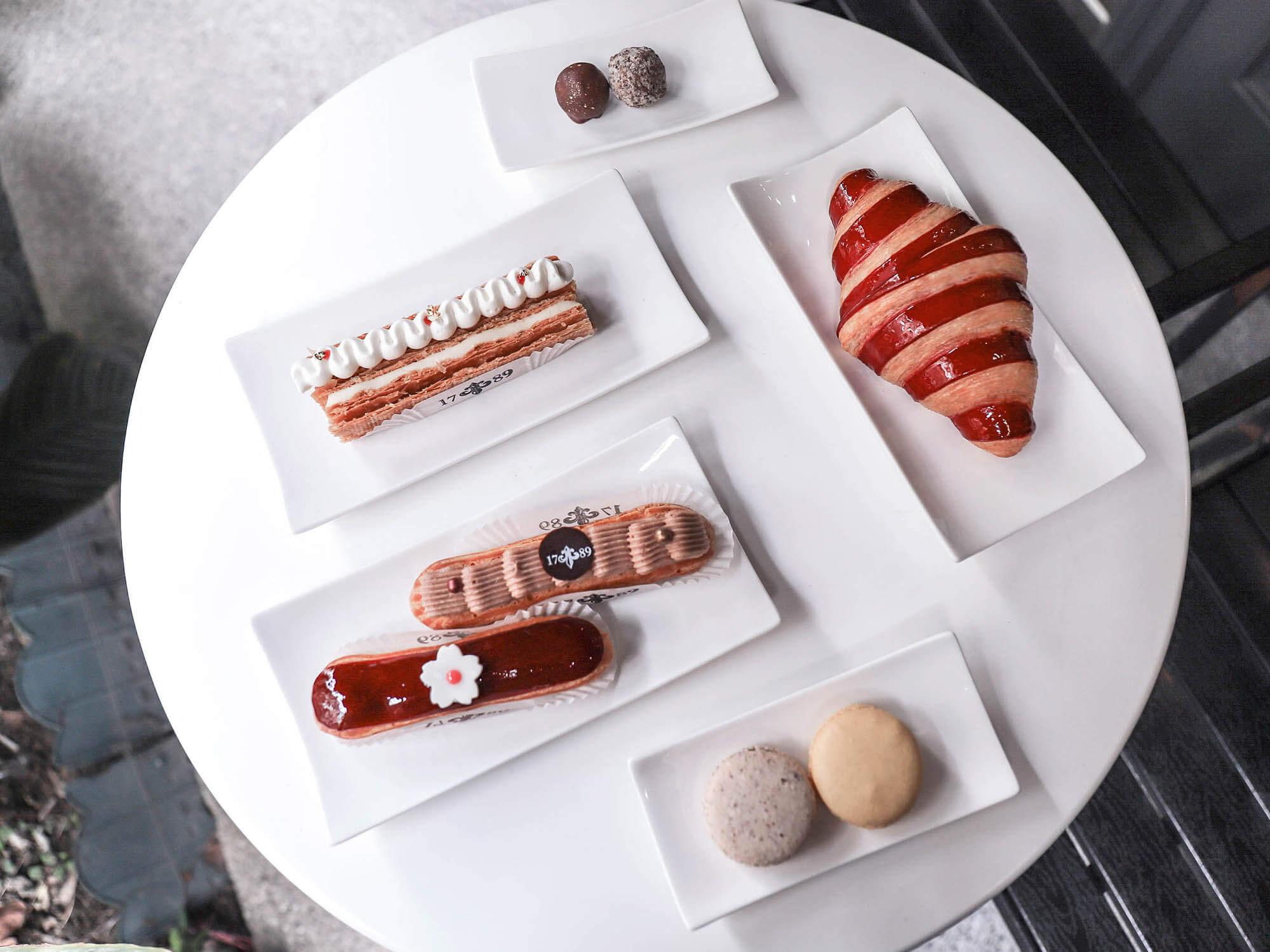 1789 Café Pâtisserie_戶外擺盤1