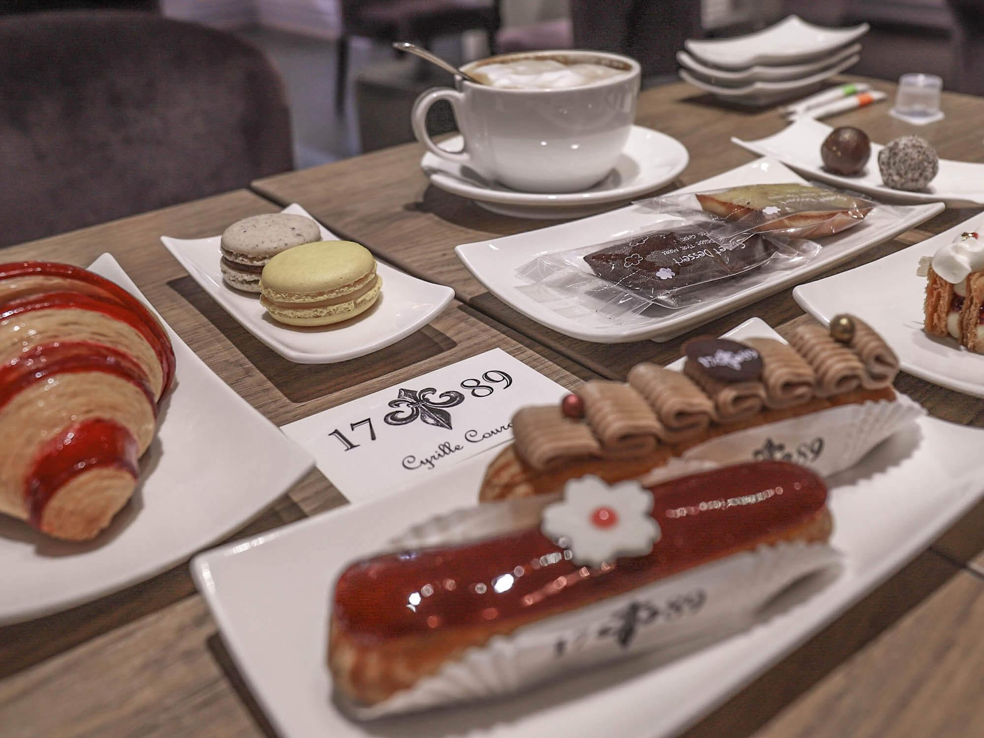 1789 Café Pâtisserie_桌子擺盤