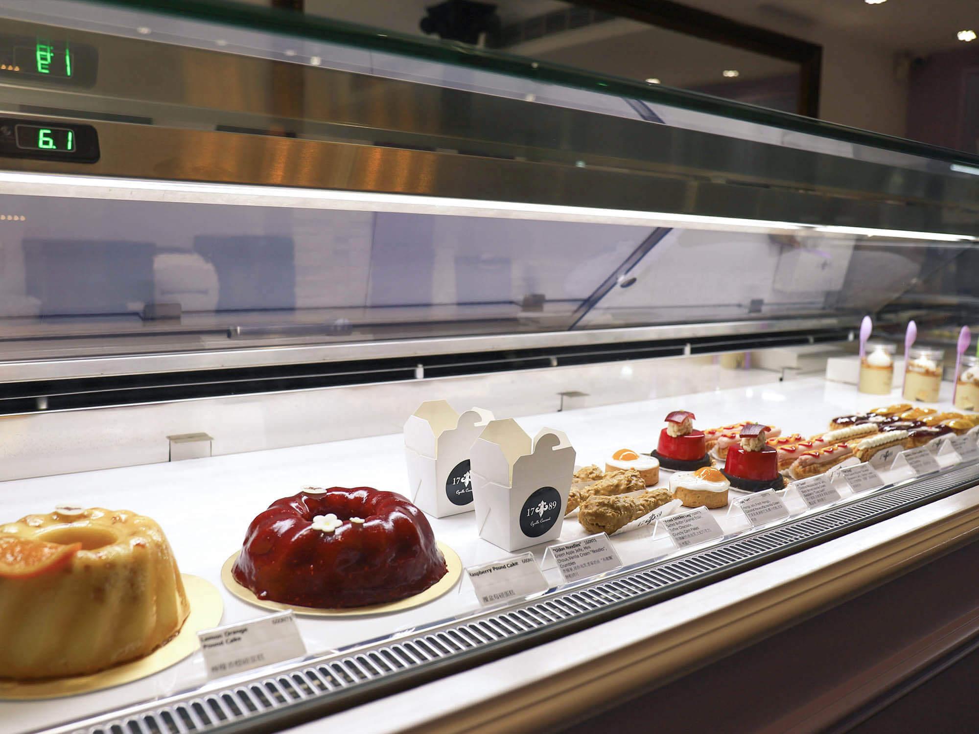 1789 Café Pâtisserie_蛋糕櫃1