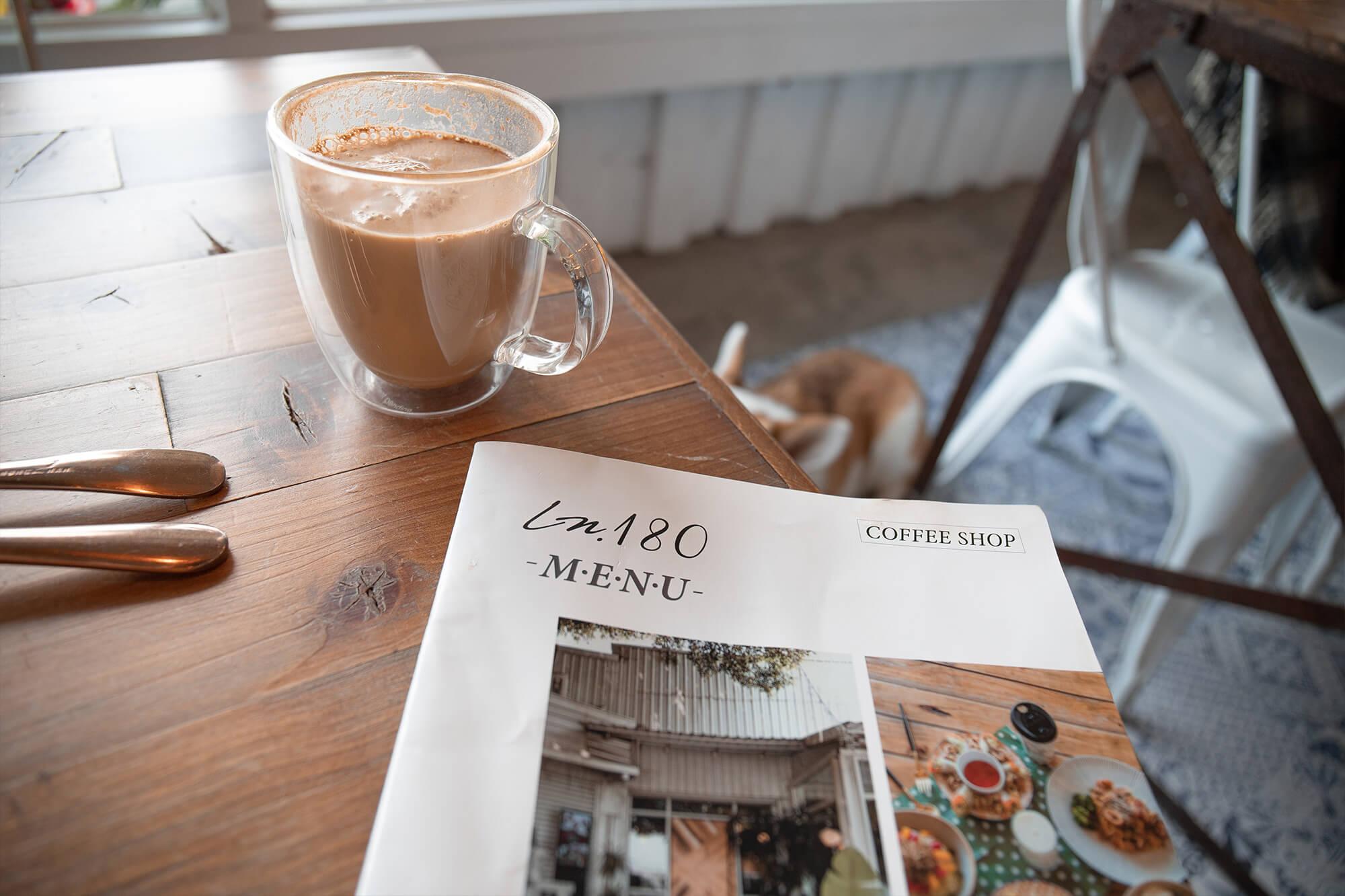 Ln180 Cafe_memu