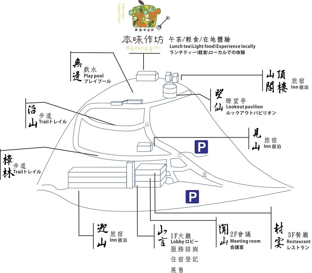 仙湖農場_導覽圖