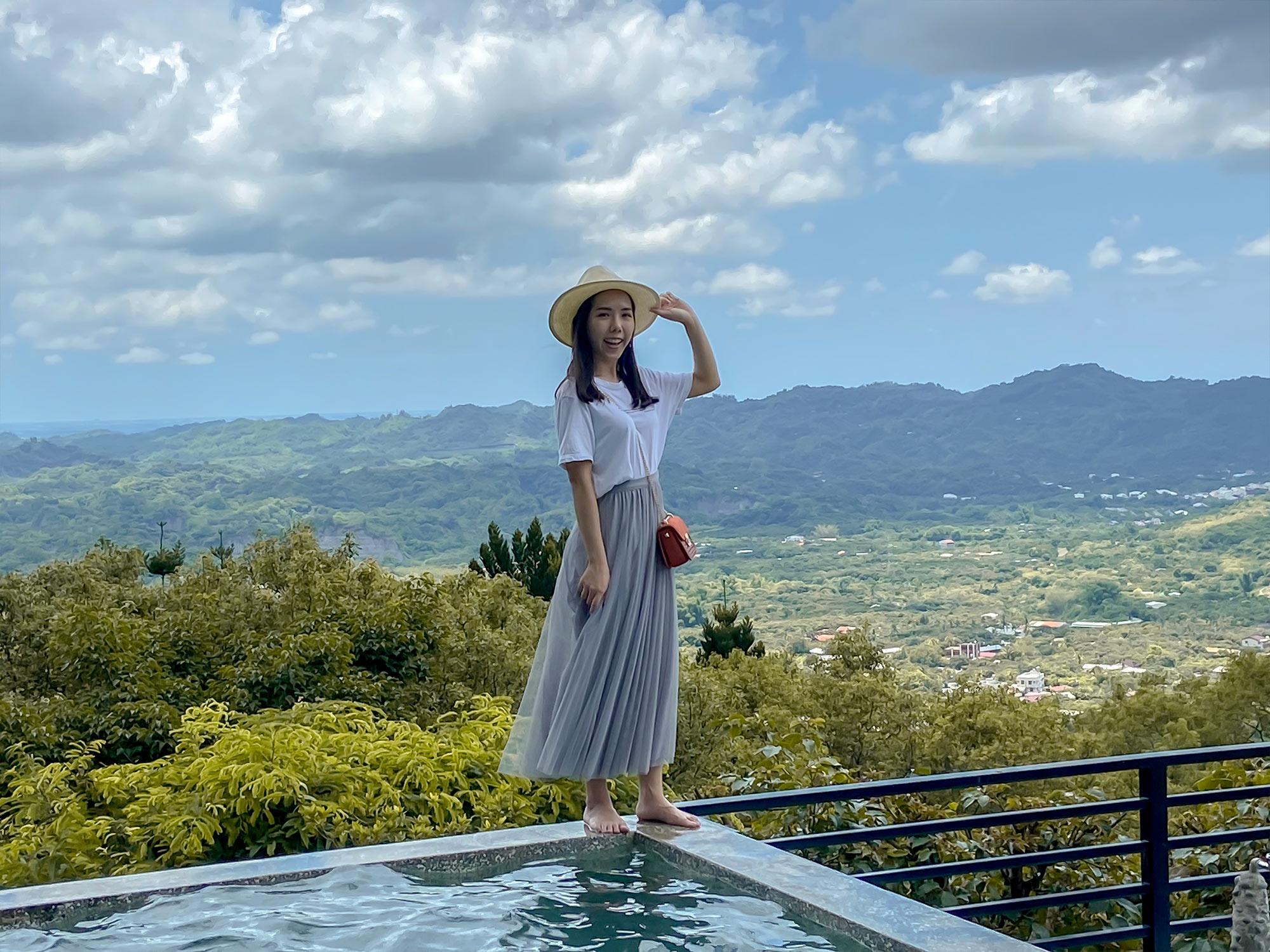 仙湖農場_無邊泳池3