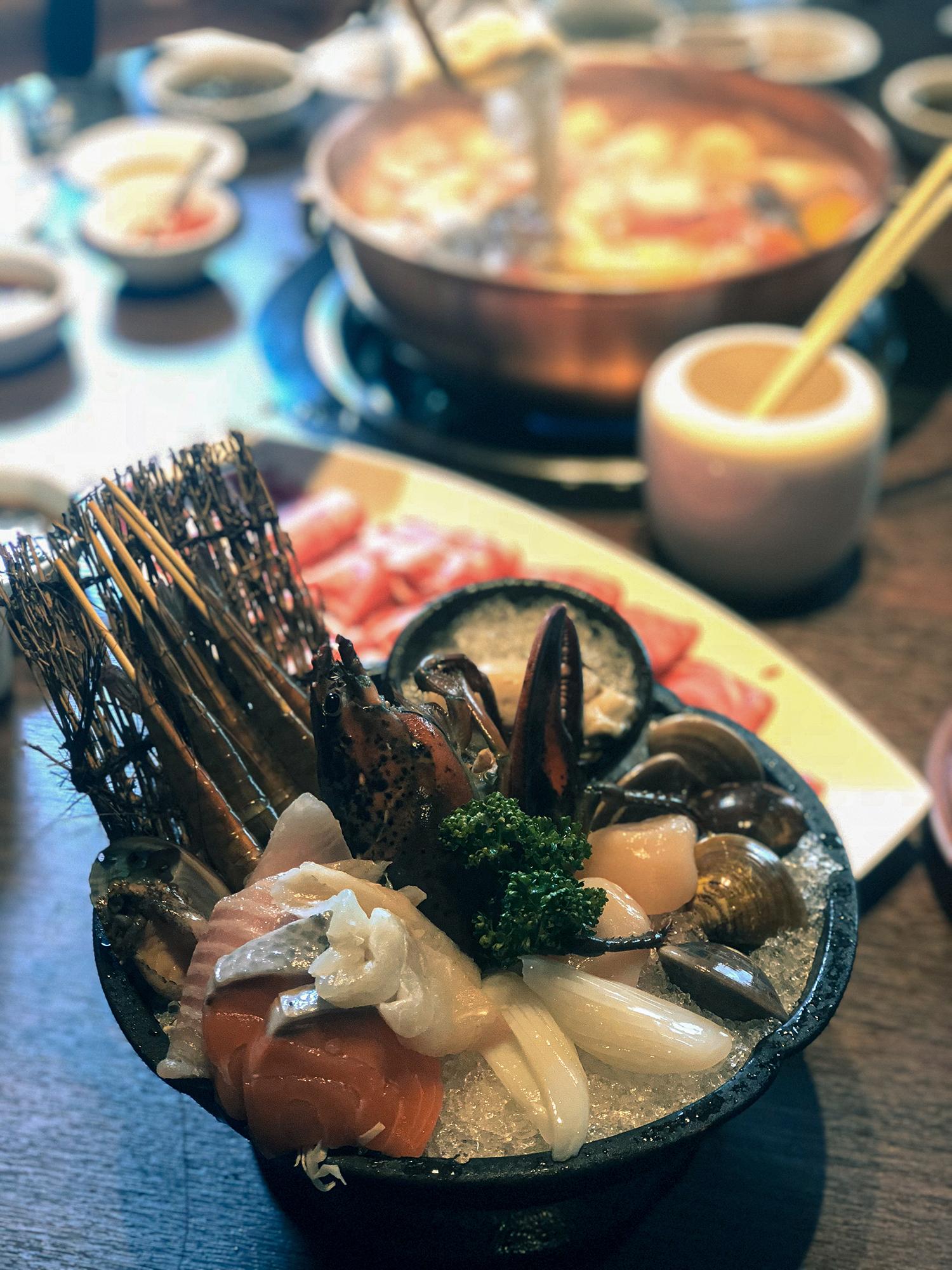 橘色二館海鮮盤1