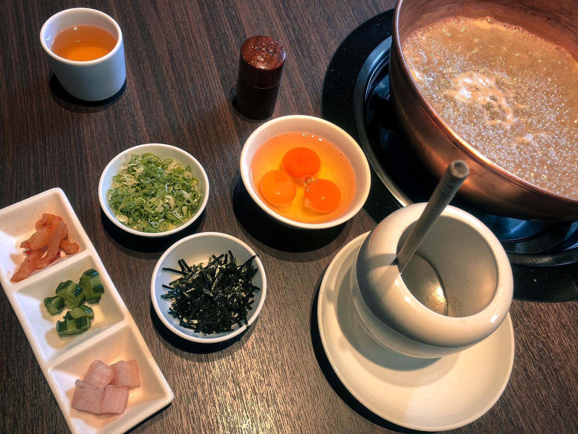 橘色二館煮粥