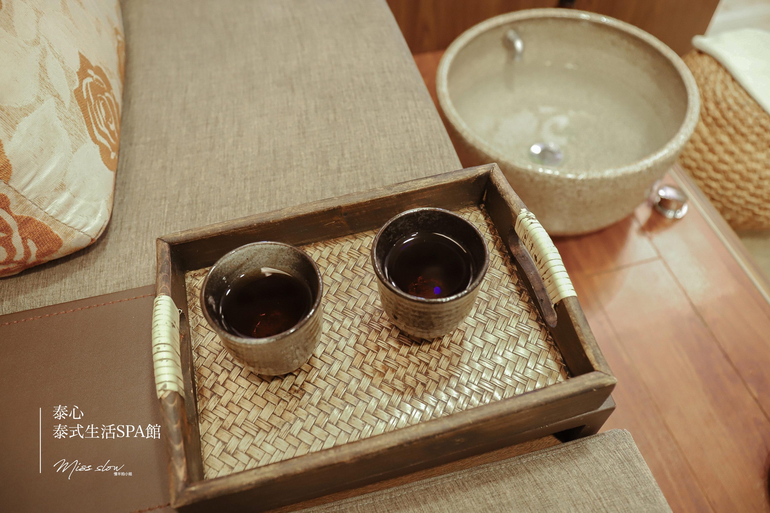 泰心等候區茶水