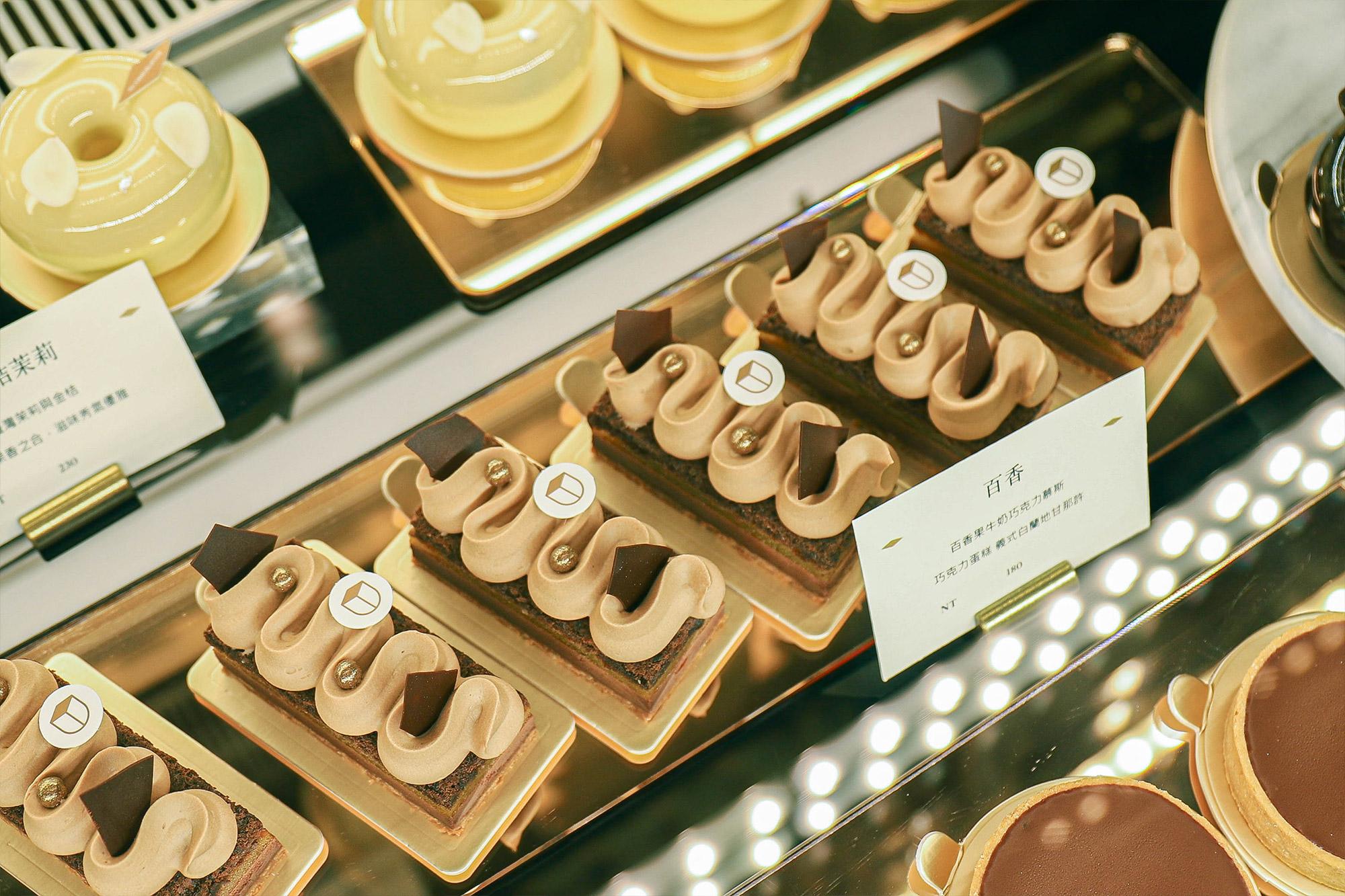 畬室法式巧克力_蛋糕櫃2