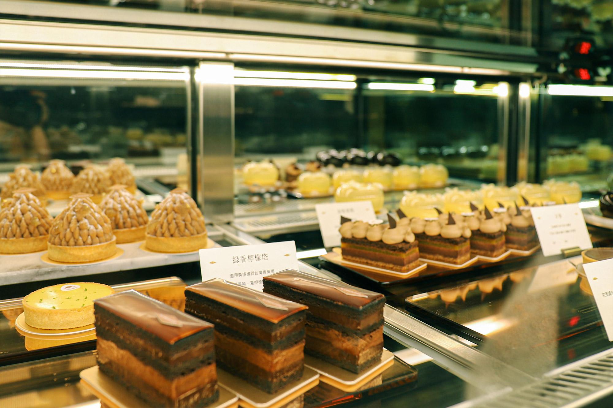 畬室法式巧克力_蛋糕櫃4