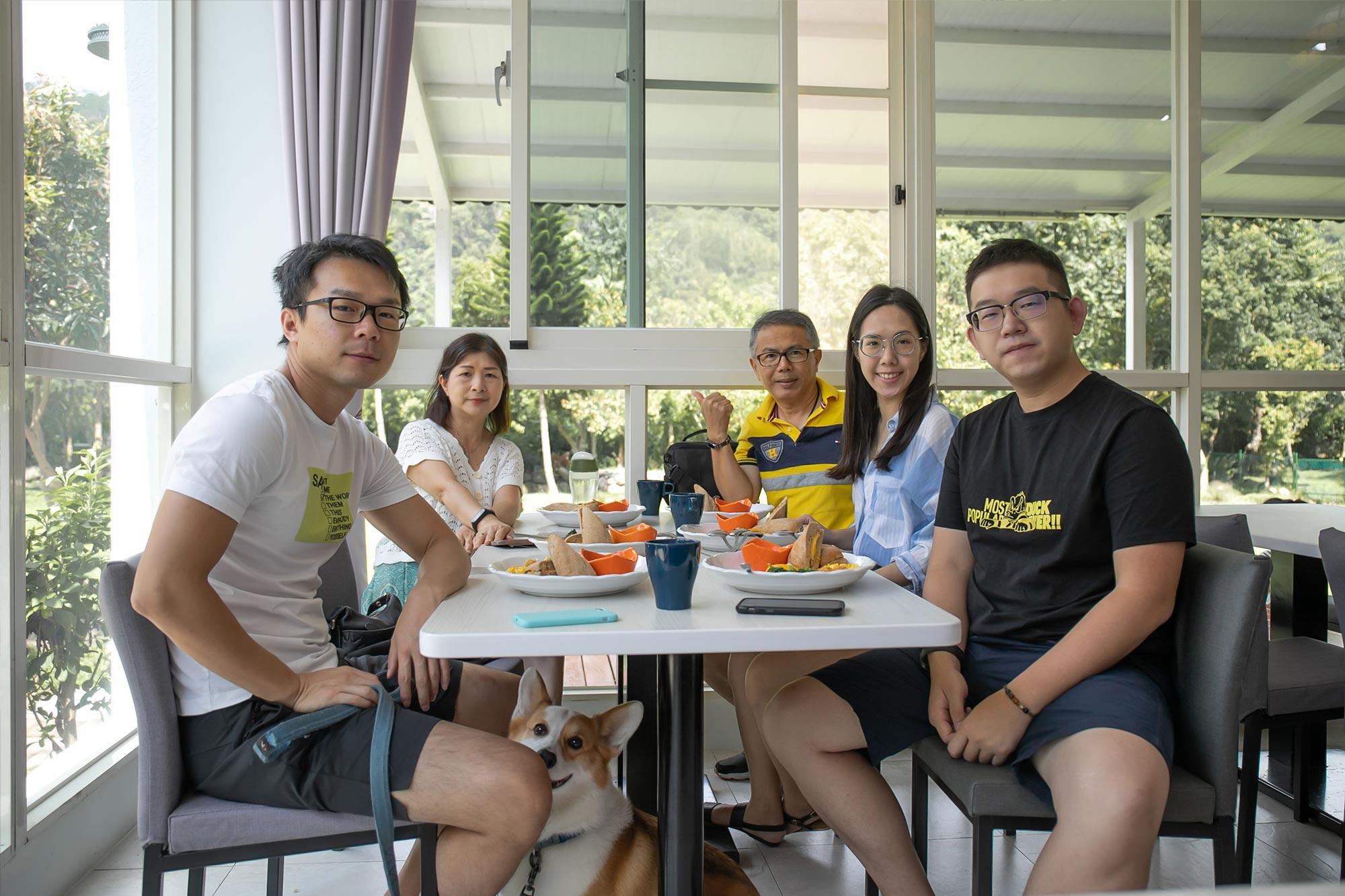 南庄麥克尼景觀莊園_用早餐區3