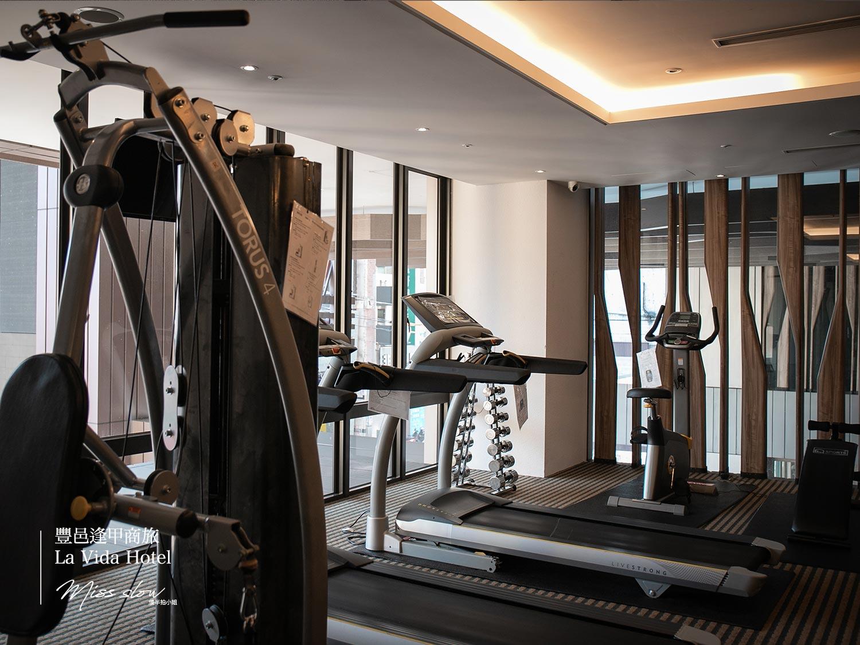 豐邑逢甲商旅 La Vida Hotel健身房器材