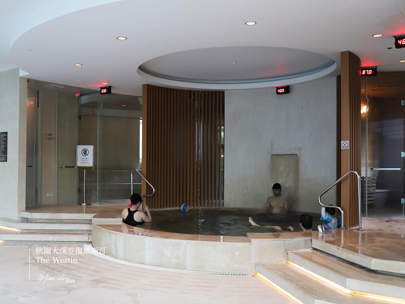 桃園大溪笠復威斯汀_室內泳池蒸氣室