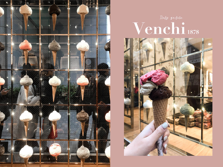 Venchi義大利冰淇淋|台灣、日本⋯⋯遍佈全球的Gelato連鎖網美店,到底哪個口味最推薦?