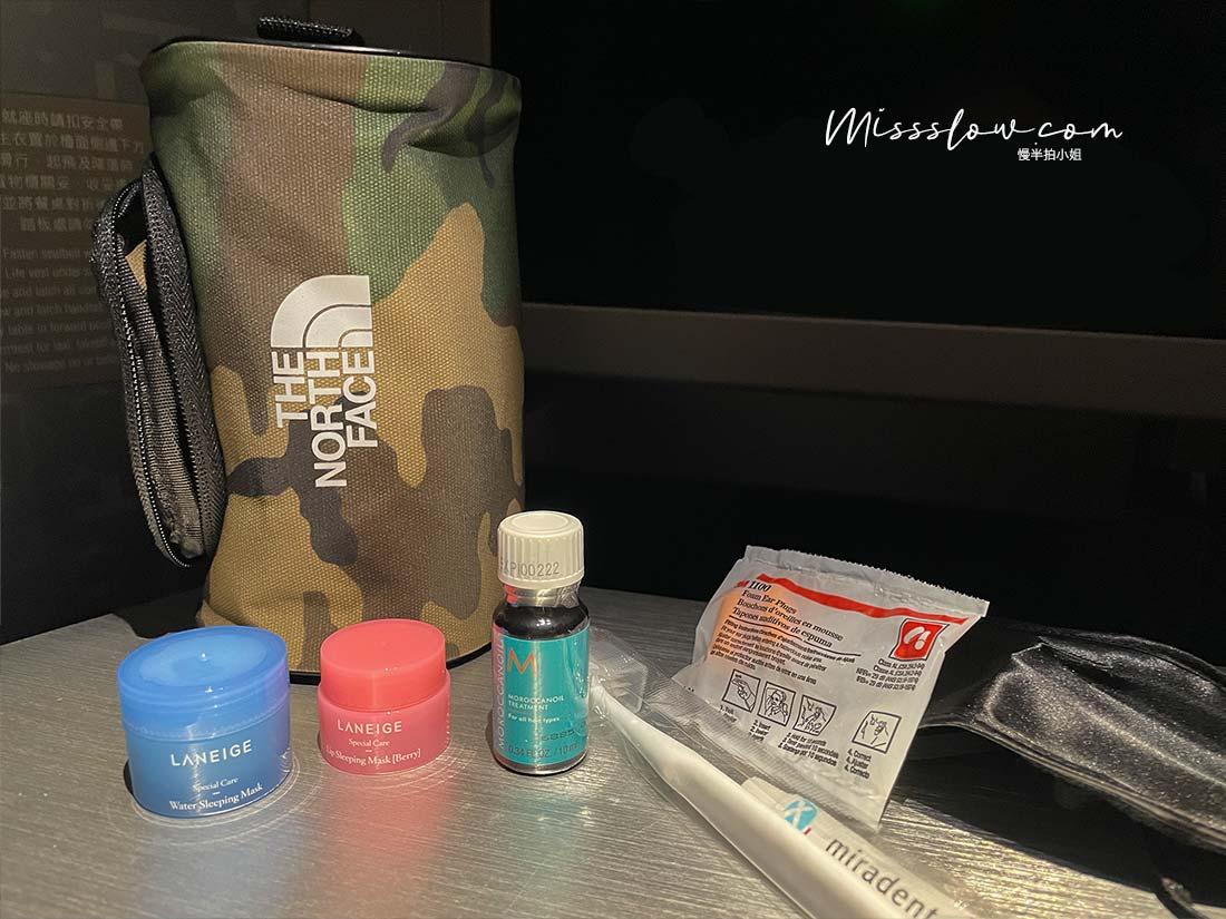 華航直飛倫敦,搭乘A350商務艙,疫情內的飛行日誌,過夜包內