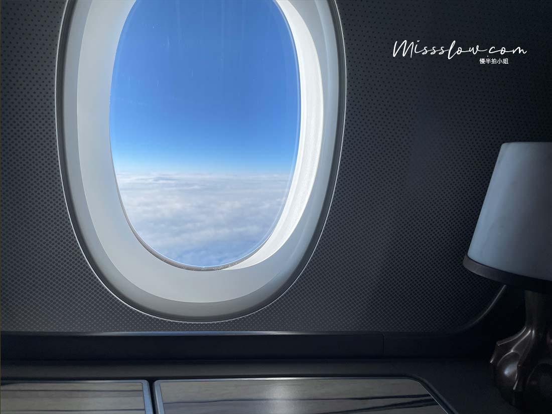 華航A350商務艙直飛倫敦,疫情內的飛行日誌-飛機窗外