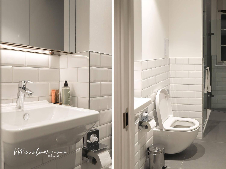 citadinesislingtonhotel倫敦住宿廁所2