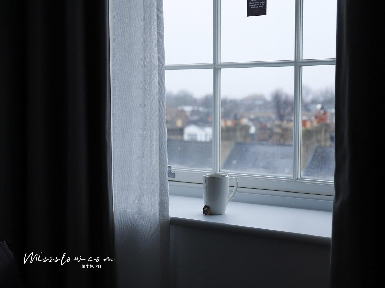 倫敦公寓式酒店 好在哪?citadines islington hotel 房間窗外