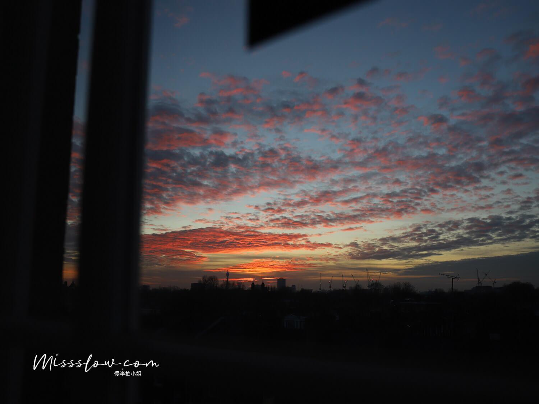 倫敦公寓式酒店 好在哪?citadines islington hotel 窗外夕陽