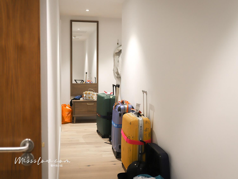 倫敦公寓式酒店 好在哪?citadines islington hotel 客廳走廊