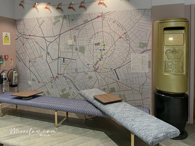 倫敦公寓式酒店citadinesislingtonhotel倫敦住宿 櫃檯地圖
