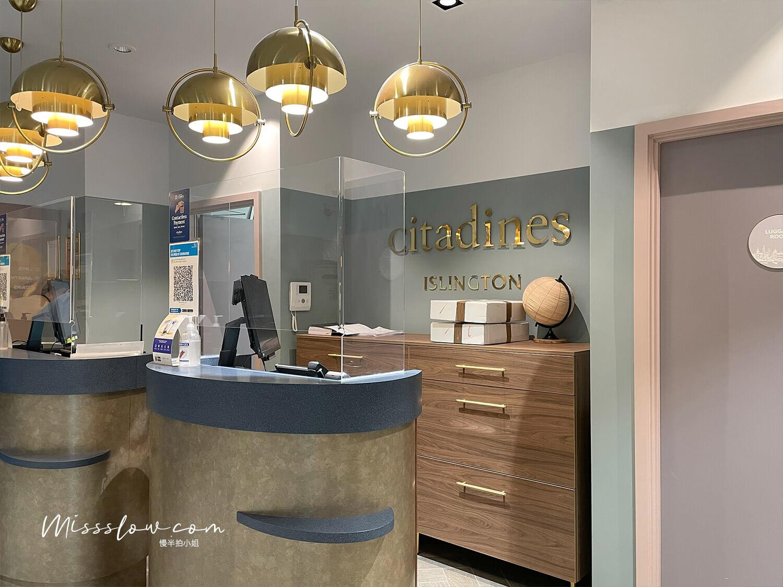 倫敦公寓式酒店citadinesislingtonhotel倫敦住宿 櫃檯
