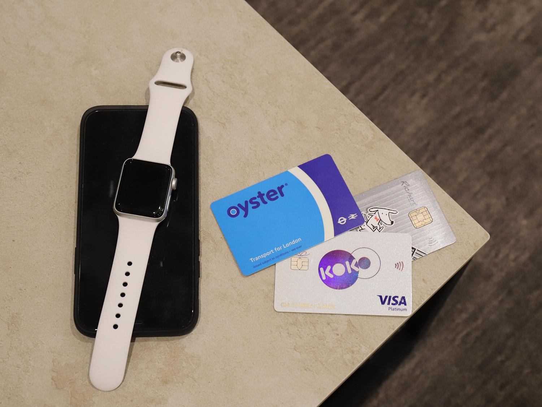 倫敦交通|11種交通工具全攻略-倫敦的交通必備卡片:牡蠣卡、晶片感應信用卡