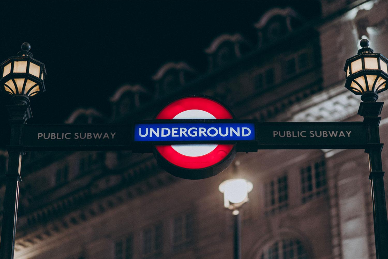 倫敦實用地圖整理:倫敦夜間地鐵路線圖