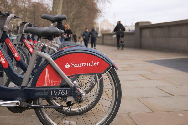 倫敦共享單車Santander Cycle租借方式