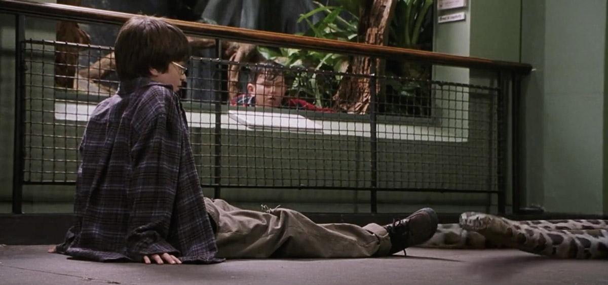 哈利波特在倫敦拍攝的10個知名電影場景:哈利在動物園和蛇對話|《神秘的魔法石》