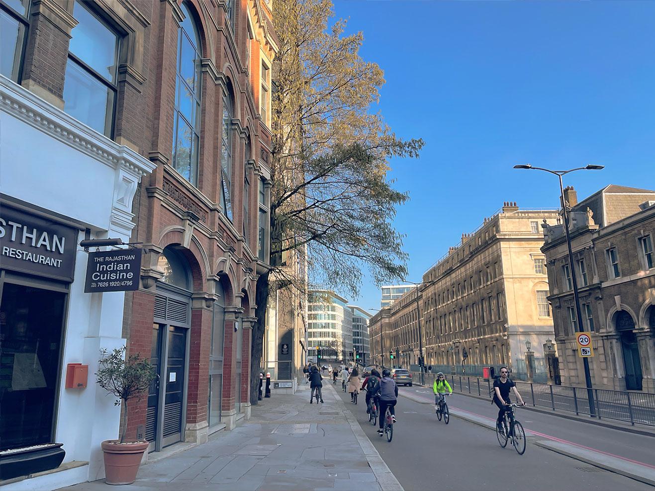 倫敦實用地圖整理:自行車、單車步道路線地圖