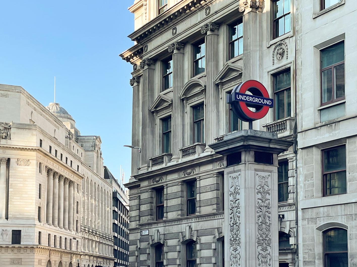 倫敦實用地圖整理:倫敦地鐵路線圖