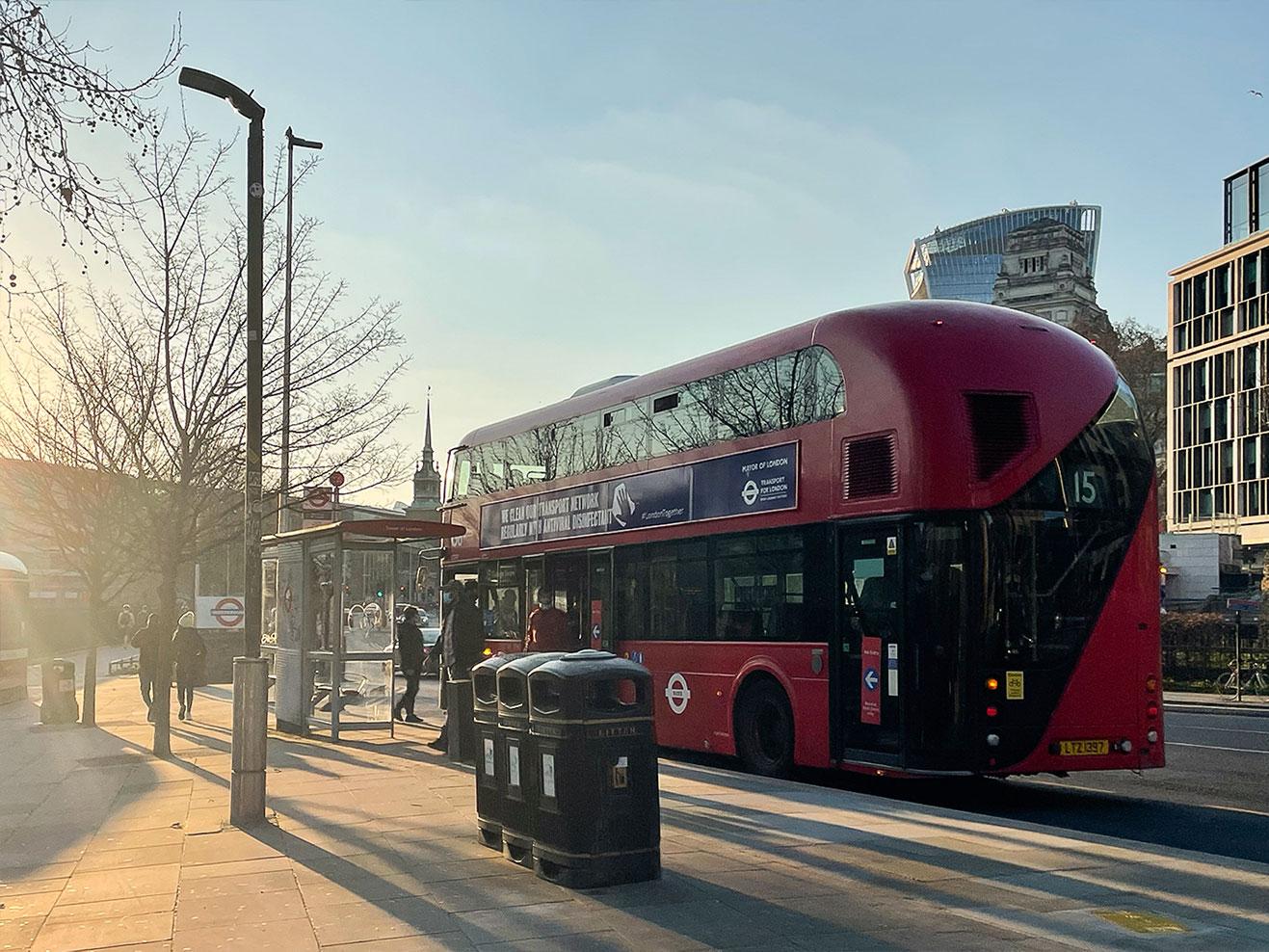 倫敦地圖-11張倫敦實用地圖整理:日間巴士地圖