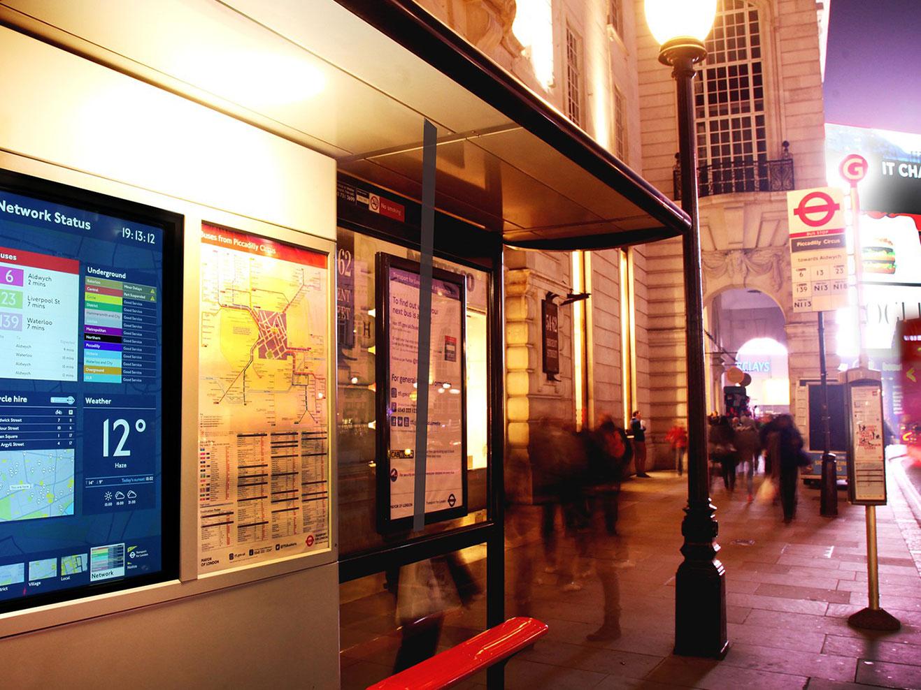 倫敦地圖-11張倫敦實用地圖整理:夜間巴士地圖