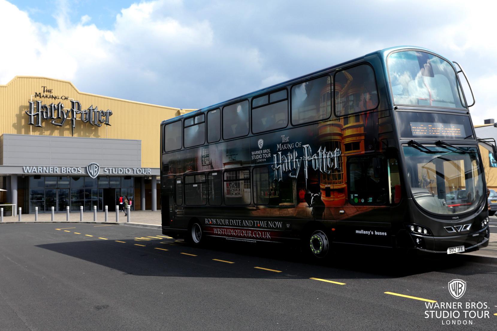 哈利波特影城製片場 購票和交通方式:哈利波特影城製片場的官方接駁shuttle巴士