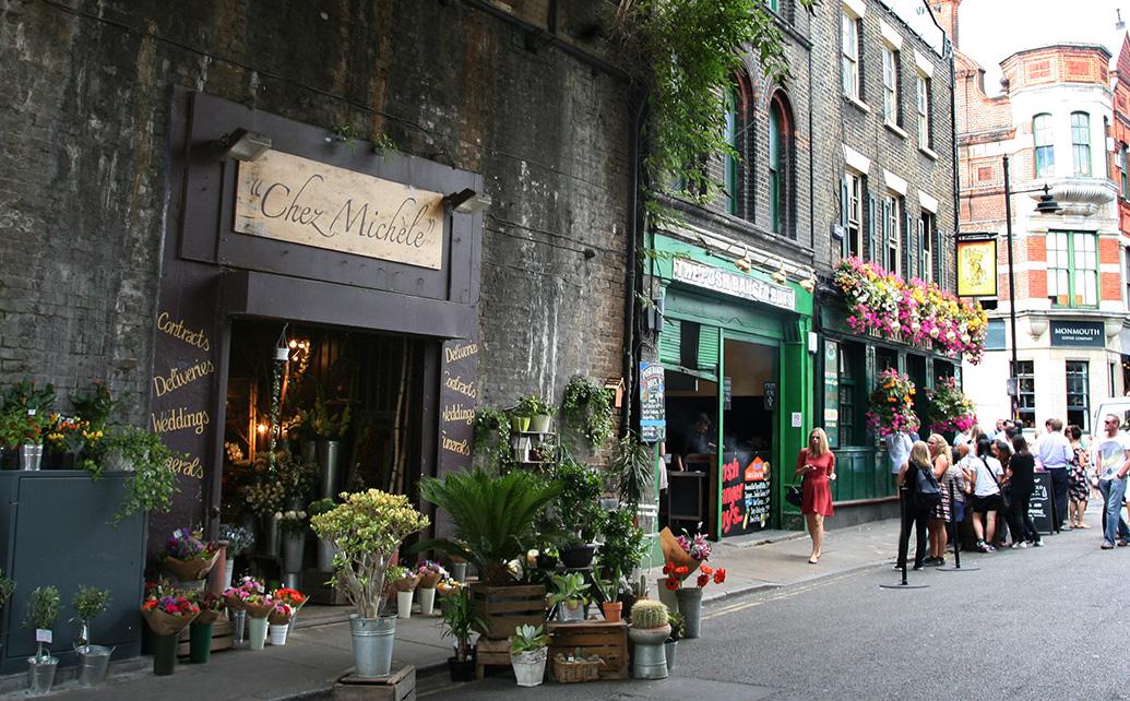 哈利波特在倫敦拍攝的10個知名電影場景:波羅市場Borough Markets