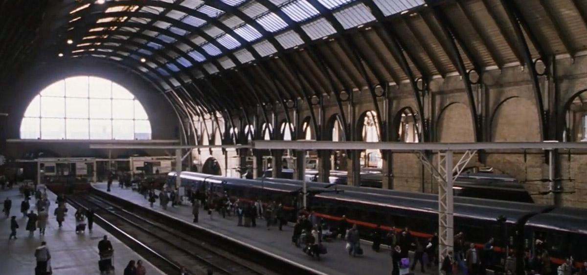 哈利波特在倫敦拍攝的10個知名電影場景:國王十字車站