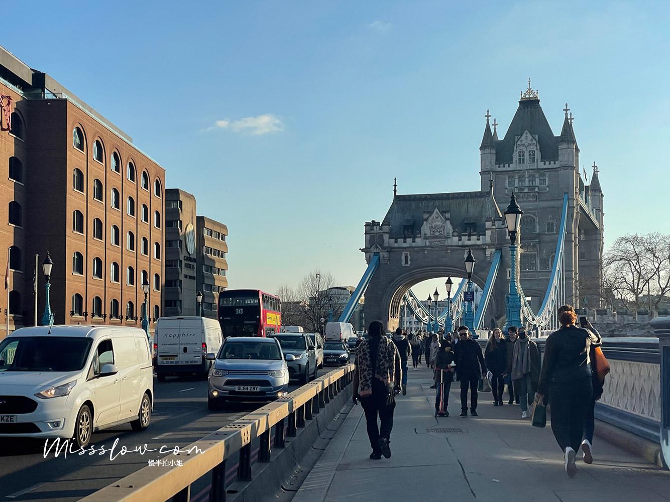 準備走上倫敦塔橋