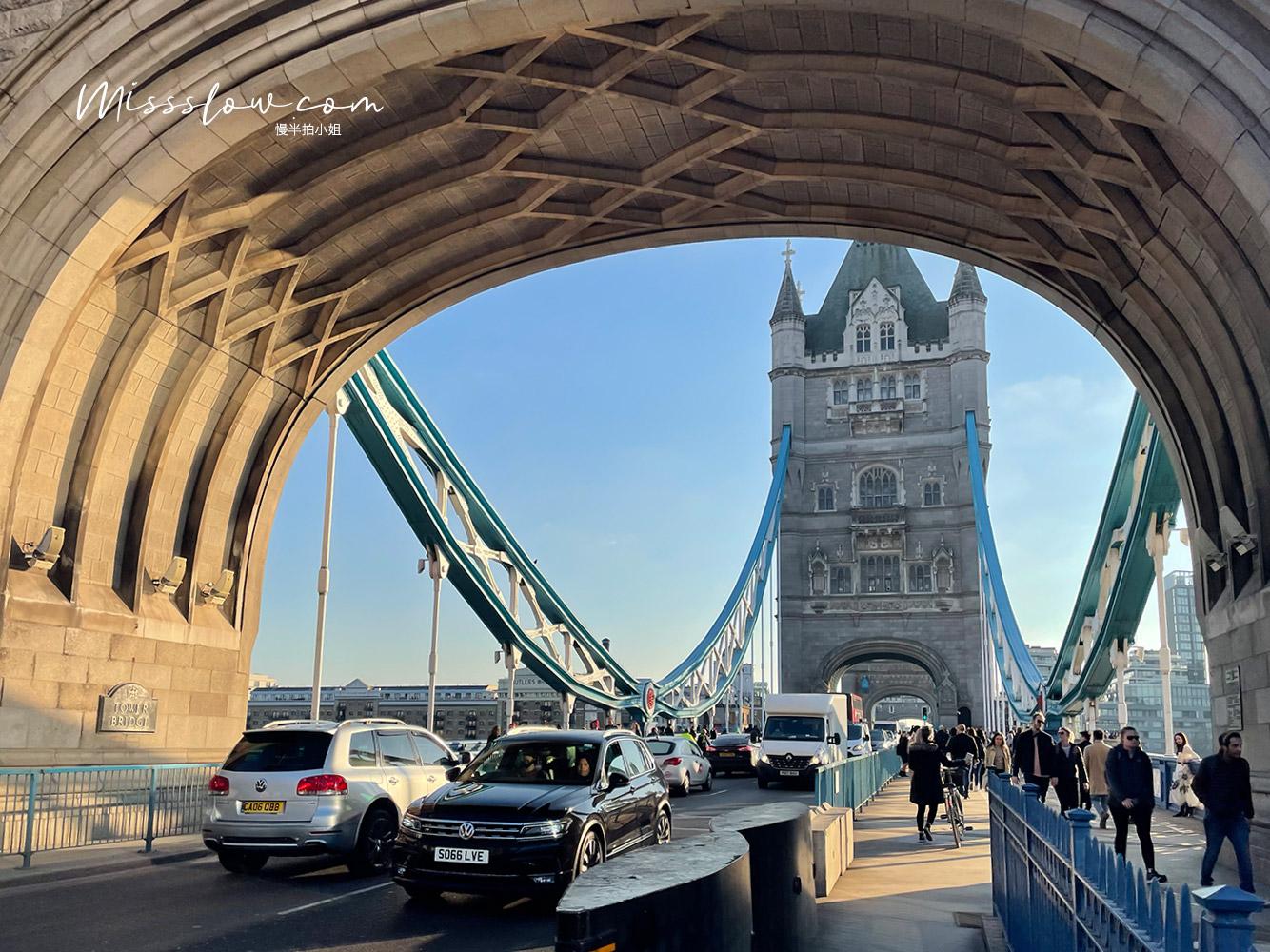 超壯觀的倫敦塔橋Tower bridge