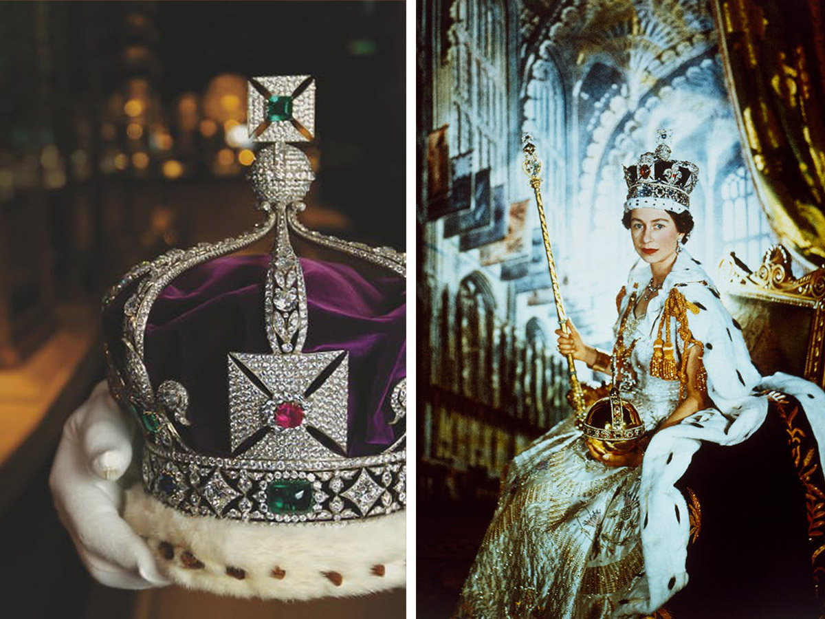 倫敦塔The Tower of London的必看重點有哪些?伊莉莎白二世加冕時所佩戴之物