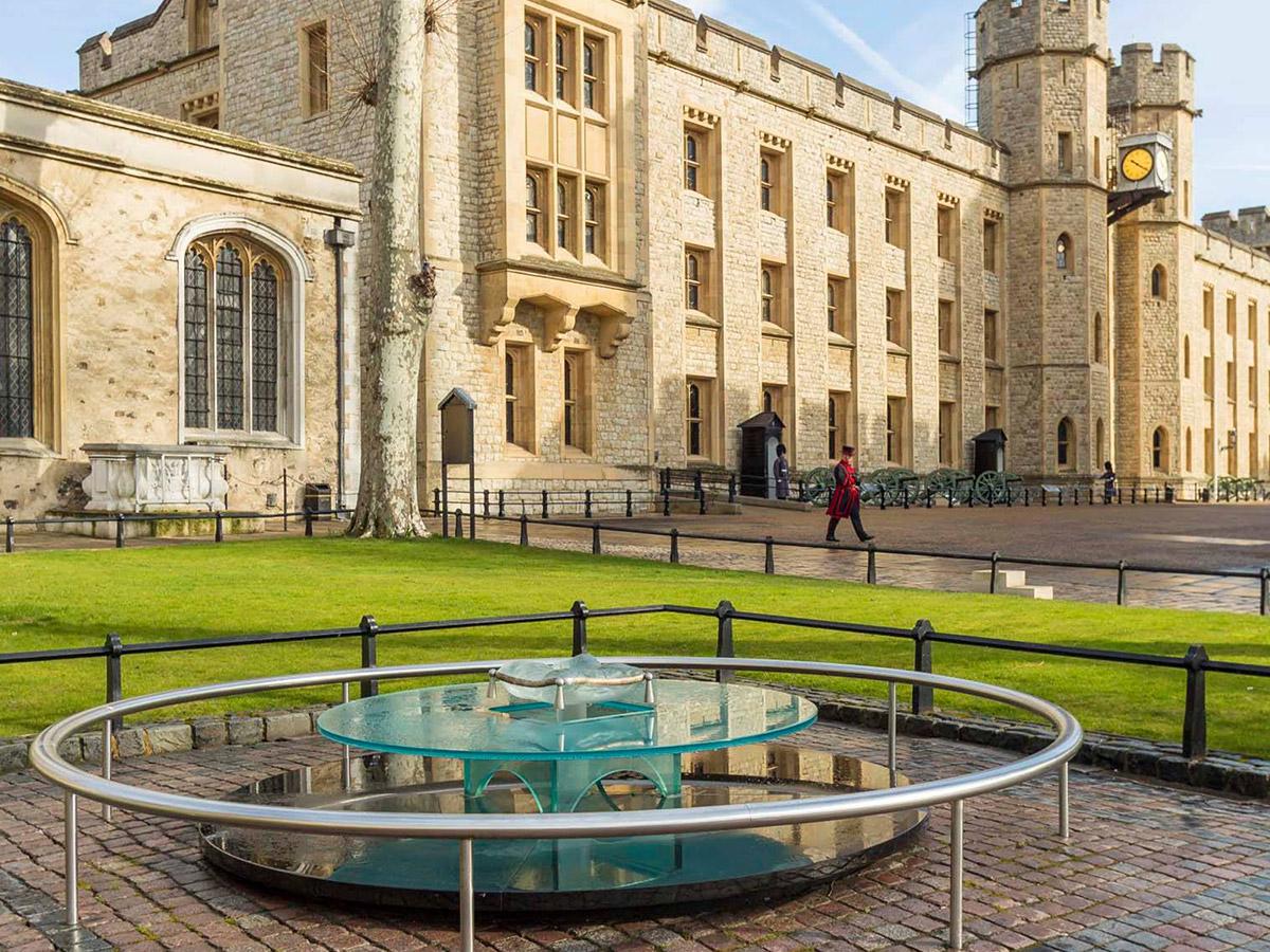 倫敦塔The Tower of London的必看重點有哪些?-倫敦塔內施行處決時的位置