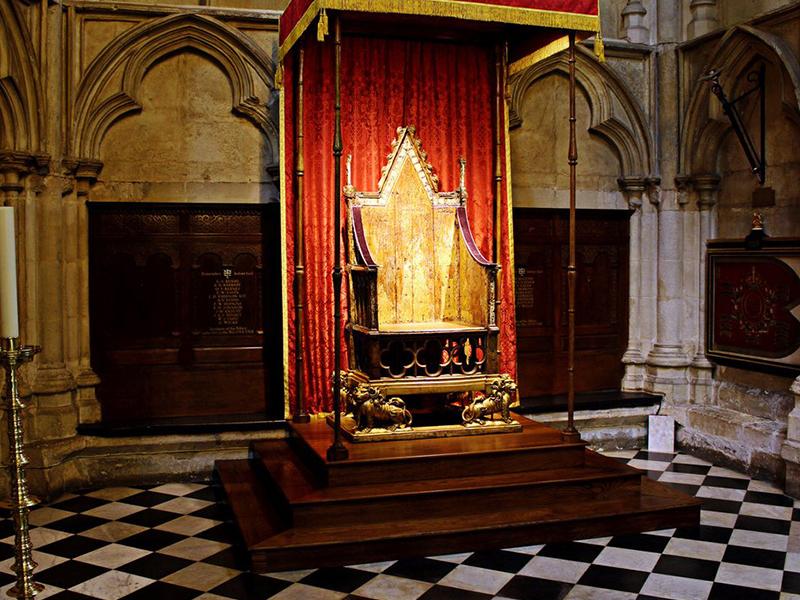 西敏寺Westminster Abbey內的9大必看重點:加冕座椅The Coronation Chair
