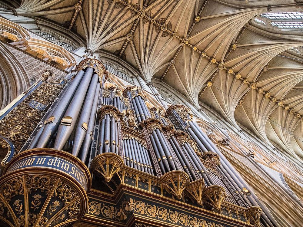 西敏寺Westminster Abbey必看的景點介紹:管風琴