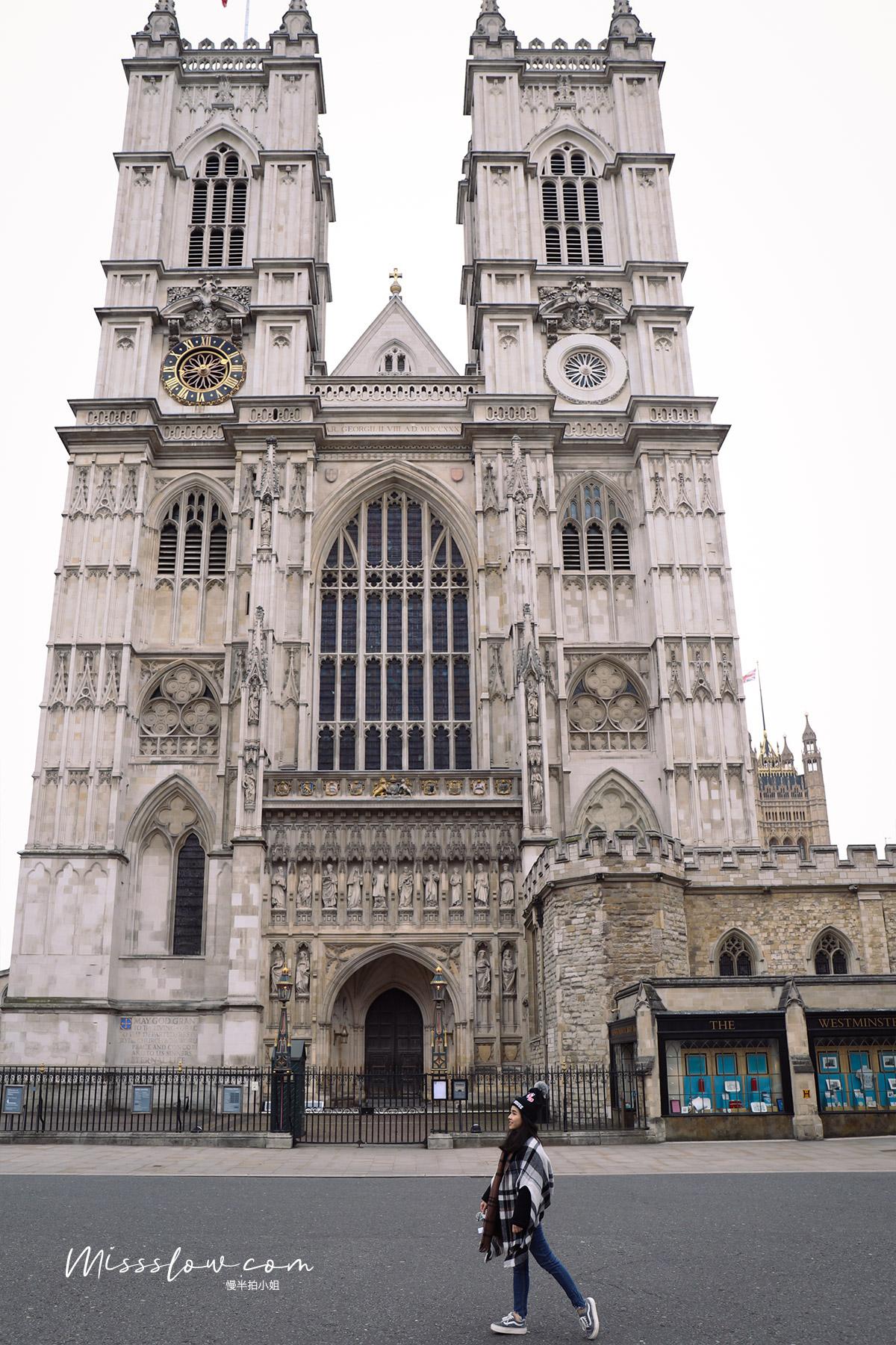 西敏寺 Westminster Abbey必看的景點介紹:西敏寺西門門口